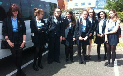 Year 10 girls attend 'Women in Mathematics' conference