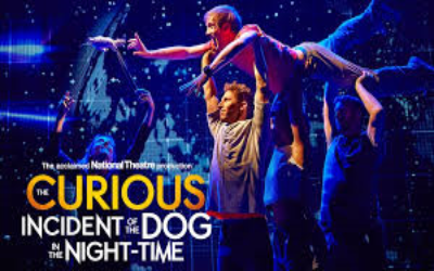 Year 10 Theatre trip to the Curious Incident of the Dog in the Night Time