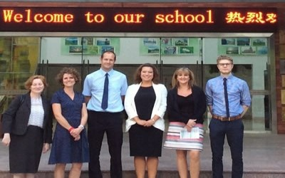 Chailey Maths Department makes links with Shanghai