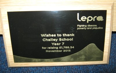 Year 7 raise money for Lepra
