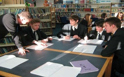 Year 11 are finding inspiration for creative writing
