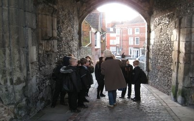Year 7 History trip to Lewes Castle