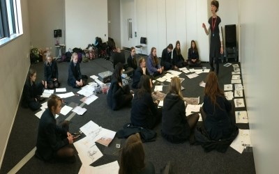 KS3 Art Trip to the Towner Art Gallery, Eastbourne