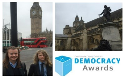 The East Sussex 'Democracy Awards' - Chailey achieves 'The Gold Award'
