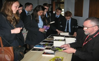 Award winning author, Alan Gibbons, visits Chailey