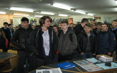 French school visits Chailey today