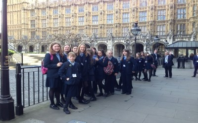 Year 9 trip to the Houses of Parliament and the Churchill War Rooms