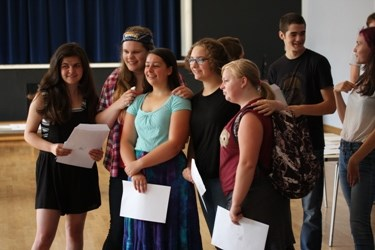 Year 11s celebrate GCSE results