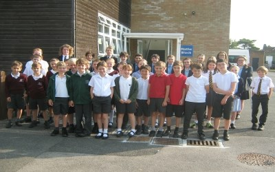 Year 6 Maths students learn at Chailey