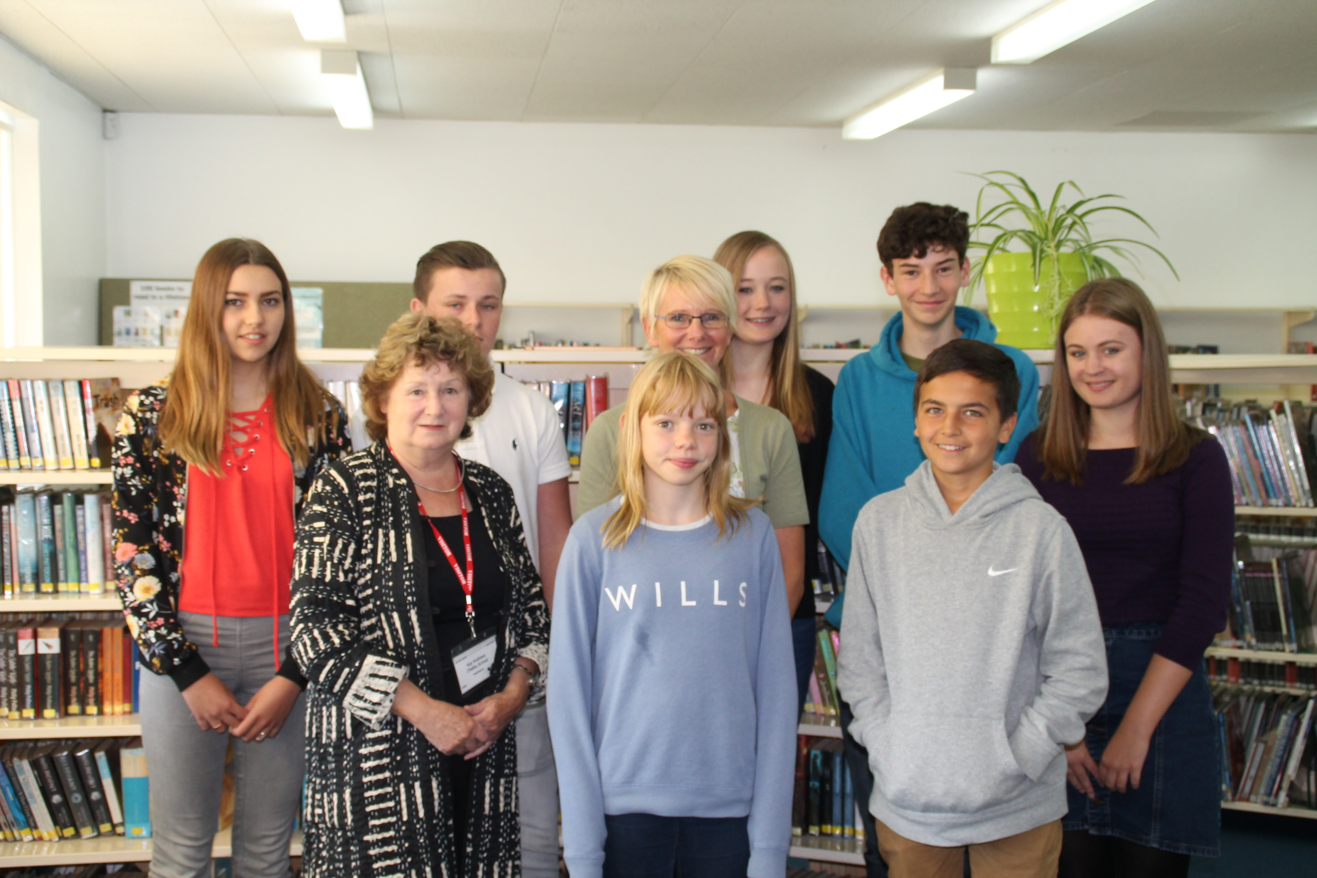 Peers in Schools Visit to Chailey  from Baroness Andrews