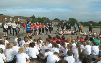 Cross Country at Chailey for our Primary Schools