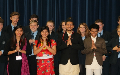 Chailey welcomes visitors from Nepal