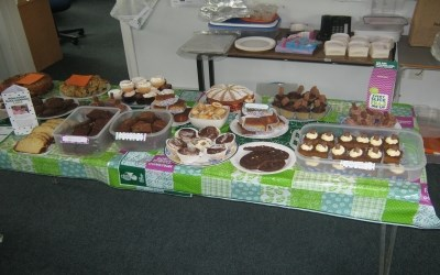 Chailey has a Macmillan Coffee Morning