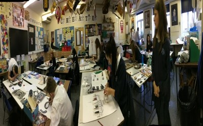 Ms Katona's GCSE  Trial Art Exam