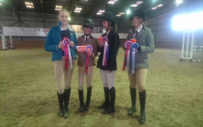 Equestrian Team wins first event