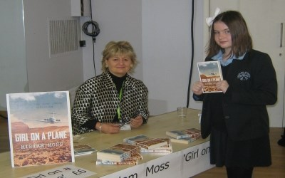 Miriam Moss, Author of 'Girl on a Plane' visits Chailey