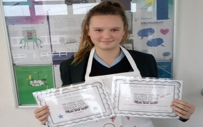 Chailey Bake-Off success for Chailey student