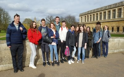 Year 10 trip to Cambridge