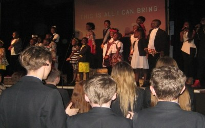 Visit to Chailey by the Watoto Choir