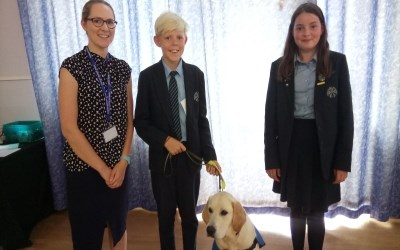 Chailey supports Guide dogs for the Blind