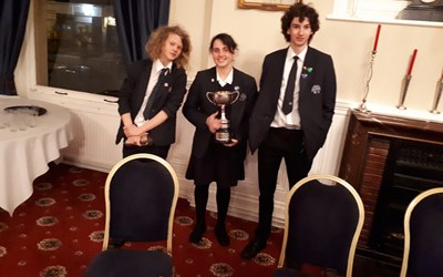 Chailey School wins Speaking Competition