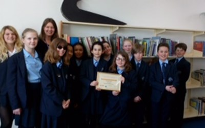 Chailey School receives Dyslexia Friendly Certificate