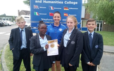 Chailey School achieves 'School Games Award'
