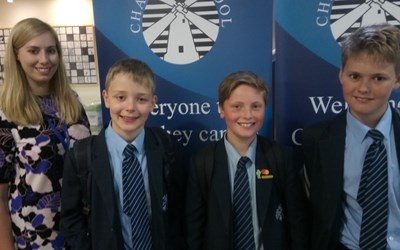 Chailey School Students Win Regional Competition and £1500 for the School
