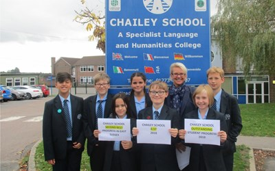 Chailey School: Outstanding Student Progress 2018
