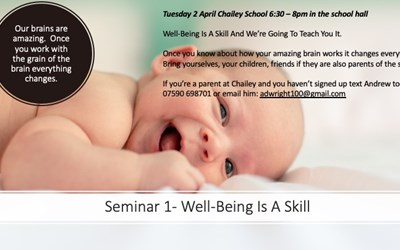 Parent Support Service Seminar 1 - Well-being Is A Skill
