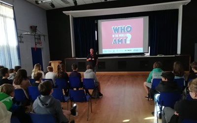 Jack The Lad visits Chailey School