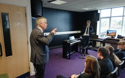 International Pianist Visits Chailey School