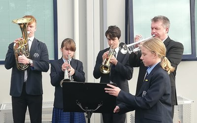 Chailey School Remembrance Service